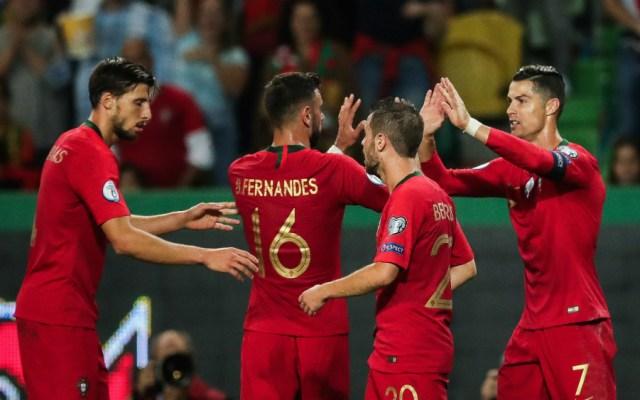 Cristiano, Guedes y Bernardo Silva acercan a Portugal a la Euro 2020 - Foto de EFE