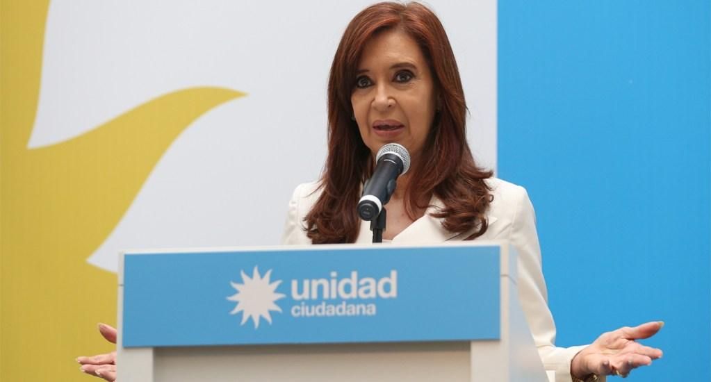 Aplazan juicio a Cristina Fernández hasta pasar elecciones presidenciales - Cristina Fernández