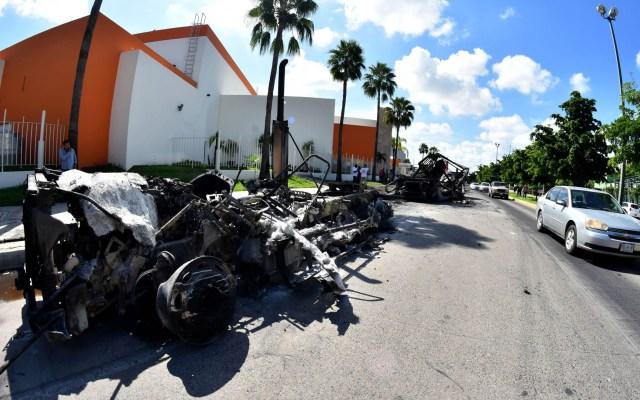 No estábamos pensando en la información, sino en la esencia de la decisión: Durazo por caso Culiacán - Culiacán Sinaloa enfrentamientos autos quemados
