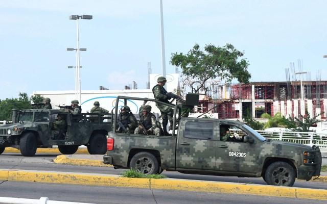 Estados Unidos niega participación en el operativo de Culiacán - Culiacán Sinaloa enfrentamientos Balaceras 2