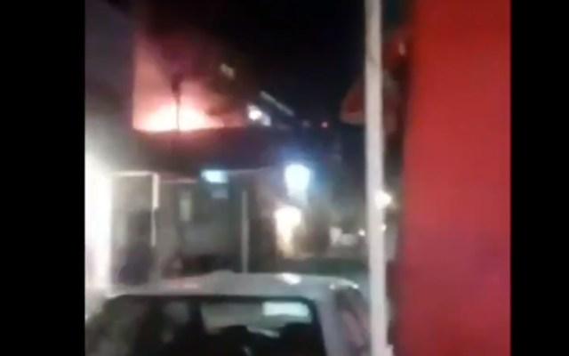 Mueren tres perros por explosión de tanque de gas en Ecatepec - Captura de pantalla