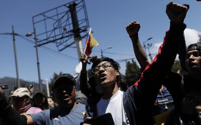 Al menos 435 policías heridos tras protestas en Ecuador - Foto de EFE