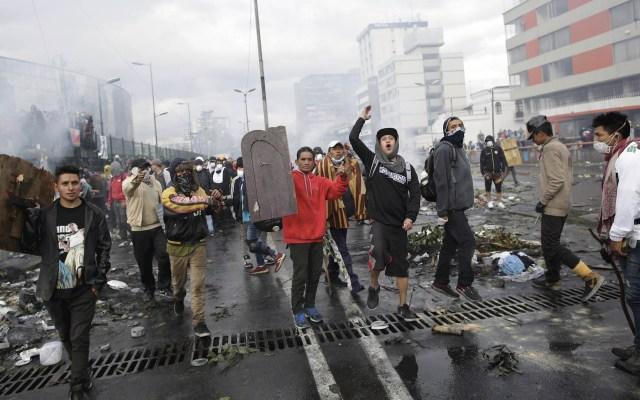 Retrasan inicio de diálogo en Ecuador por problemas de seguridad - Ecuador protestas toque de queda