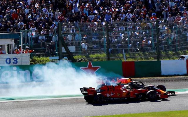 Reflejos del GP de Japón 2019 - Foto: EFE.
