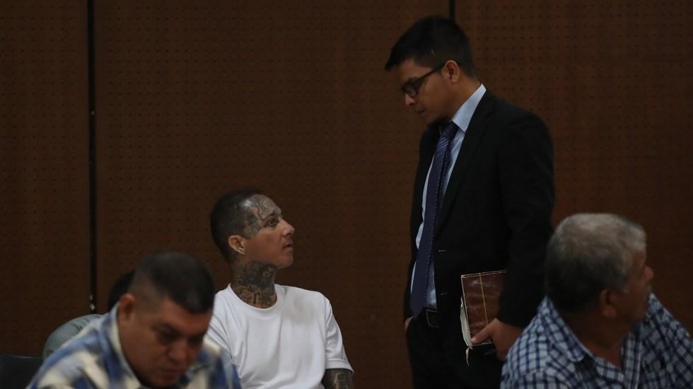Mara Salvatrucha buscó alianzas con cárteles de México y Guatemala - En San Salvador, El Salvador, se realiza un juicio contra más de 400 pandilleros de la Mara Salvatrucha. Foto de EFE