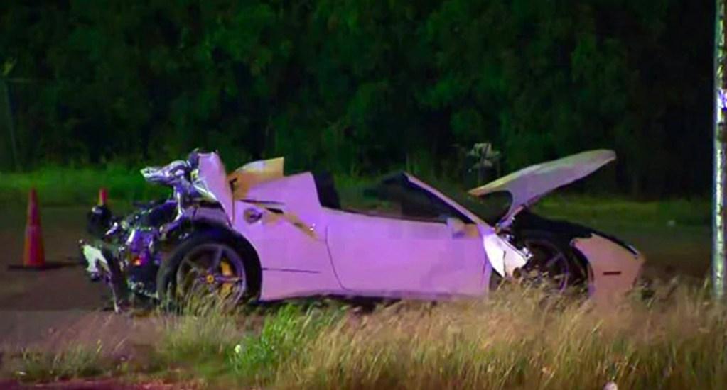 #Video El aparatoso accidente de Errol Spence Jr. - Errol Spence Jr