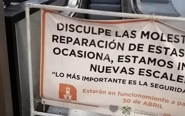 Abren indagatoria por lesionados en escaleras del Metro Polanco - Escaleras Metro Polanco