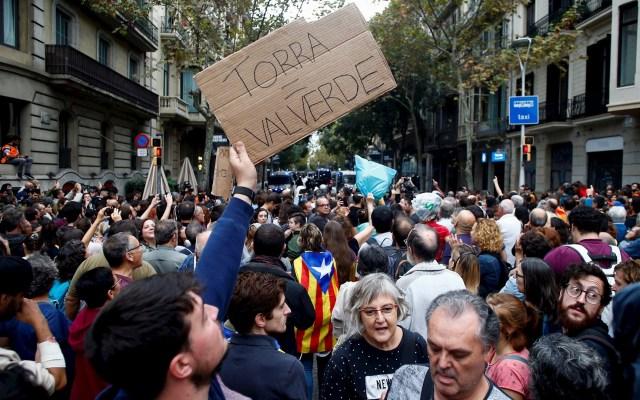 Baja la intensidad de violencia en Cataluña pero aumenta el impacto electoral - España Cataluña protestas