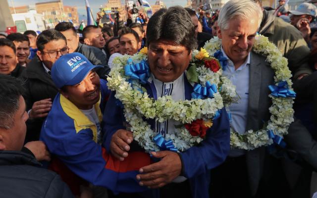 Bolivia a 13 años de mandato de Evo Morales - Foto de EFE