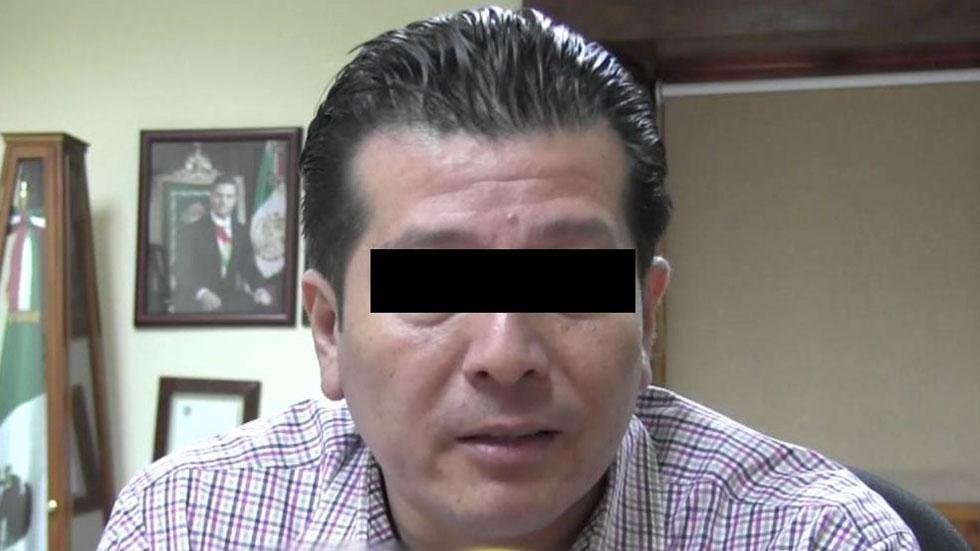 Detienen en Nayarit a extesorero de Roberto Sandoval - Extesorero de Nayarit, Mario N. Foto Especial / Noticieros Televisa