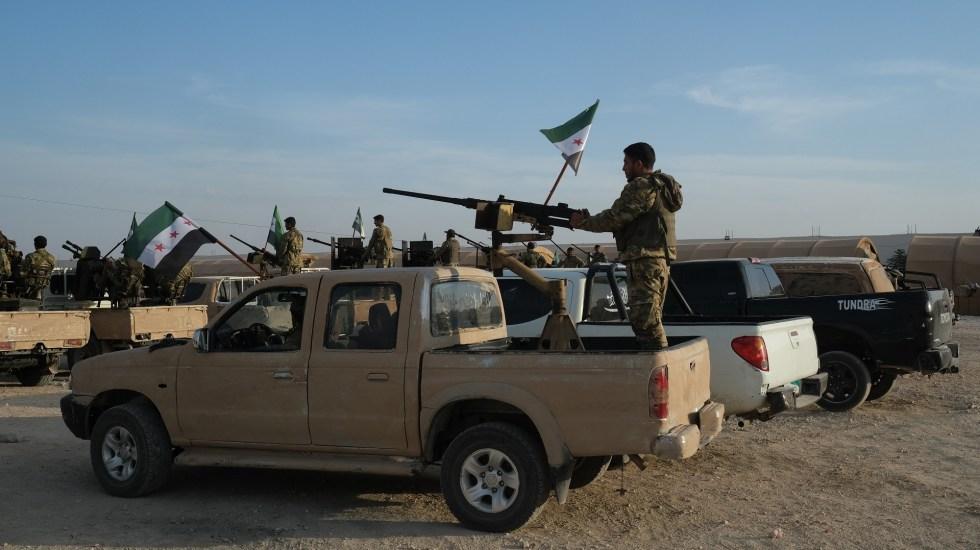 El primer día de la ofensiva turca en Siria - Fuerzas Armadas de Turquía. Foto de EFE