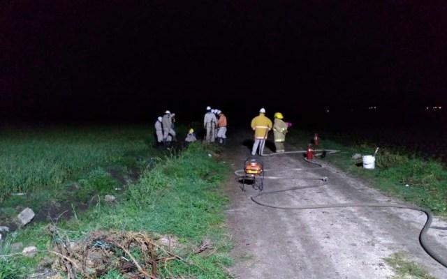 Controlan fuga de gas LP en Tepeaca, Puebla - Controlan fuga de gas LP en Tepeaca, Puebla