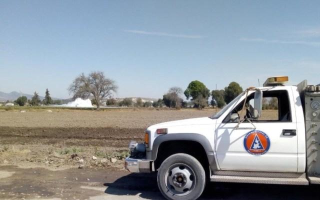 Reportan fuga de gas LP en Tepeaca, Puebla - (Twitter @PC_Estatal)