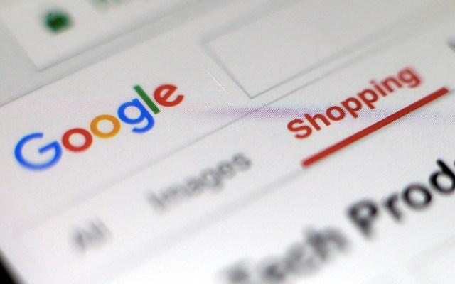 Google recolectó datos médicos de estadounidenses sin permiso - Google página sitio web