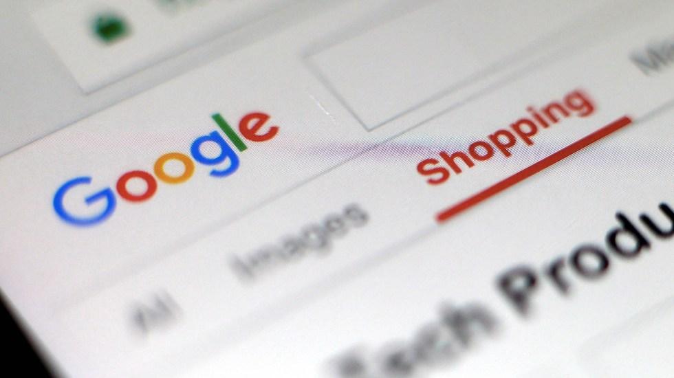Google suspende polémico programa de reconocimiento facial - Google página sitio web