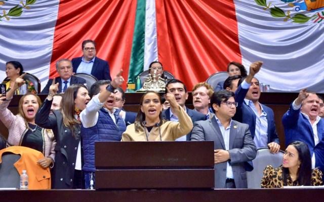 #Video Diputados del PAN exigen renuncia del Gabinete de Seguridad - Grupo Parlamentario del PAN en la Cámara de Diputados exige renuncia del Gabinete de Seguridad. Foto de @LuisMendozaBJ