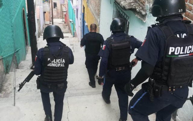 Guanajuato refuerza la seguridad tras enfrentamientos en Sinaloa - Guanajuato policías seguridad