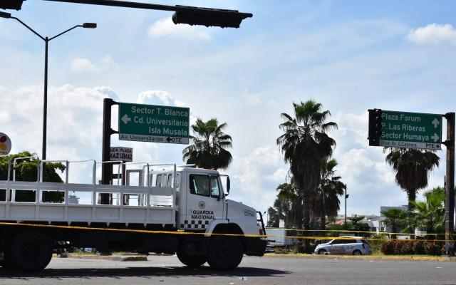 Sinaloa se está reposicionando tras violencia en Culiacán: Quirino Ordaz - Guardia Nacional en Culiacán, Sinaloa, el pasado 17 de octubre. Foto de Notimex- Hugo Gutiérrez.