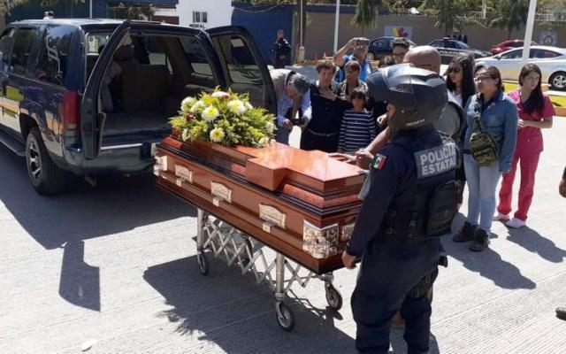 Realizan homenaje a policías que murieron durante emboscada en Aguililla, Michoacán - homenaje policias aguililla
