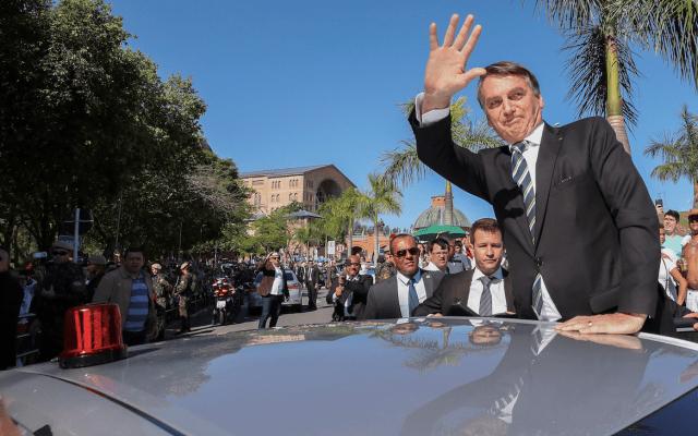 Bolsonaro celebra caída en la criminalidad durante primeros seis meses de mandato - Foto de EFE