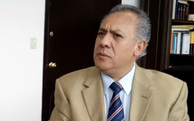 Suspenden al magistrado del Primer Circuito, Jorge Camero, por presunta corrupción - Jorge Arturo Camero Ocampo, magistrado de Circuito. Foto de Youtube