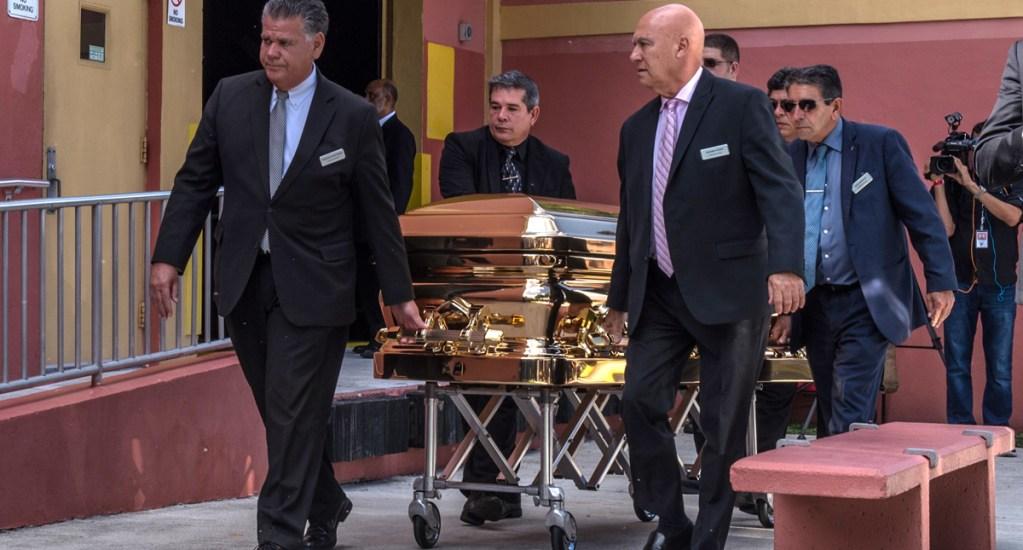 Posponen 48 horas cremación de José José - Foto de EFE