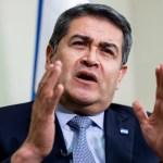 Juan Orlando Hernández inicia último año en el poder con compromiso de no buscarlo más - Foto de EFE