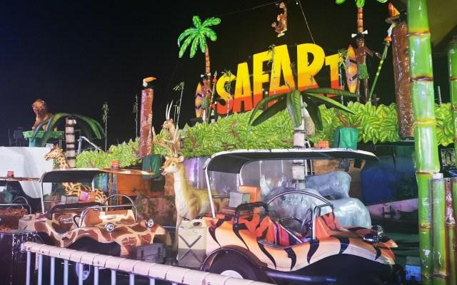Niña muere electrocutada en juego de la Feria de Pachuca - Juego Safari de Feria de Pachuca donde murió una niña. Foto de @REDPeriodistasH