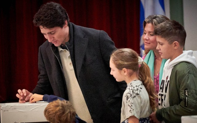 Partido Liberal de Trudeau gana elecciones generales en Canadá - Justin Trudeau Canadá elecciones
