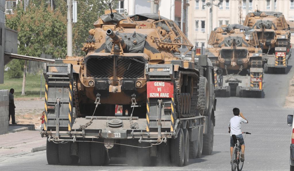 Kurdos aceptan tregua tras una semana de ofensiva turca - Foto de EFE