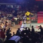 #Video Operan a La Parka tras accidente en Arena Coliseo de Monterrey