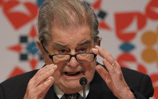 AMLO podría asistir a homenaje a Miguel León-Portilla - Miguel León-Portilla. Foto de EFE