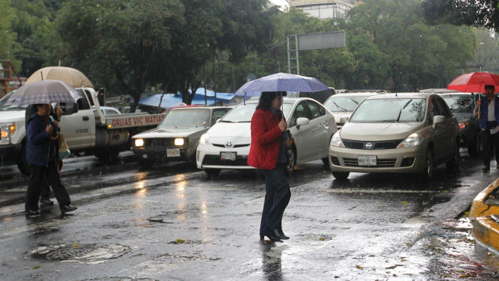 Alerta en toda la Ciudad de México por lluvias - lluvias
