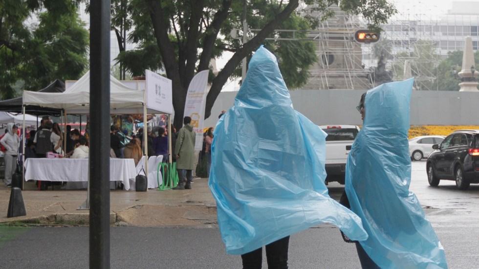Alerta Amarilla en doce alcaldías de la Ciudad de México por lluvias - Foto de Archivo Notimex-Alejandro Guzmán.