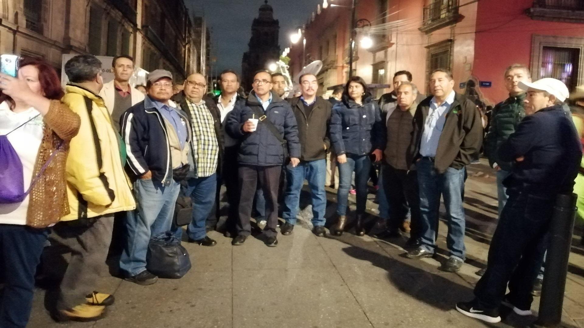 Maestros del Conalep. Foto de @IztacalcoI