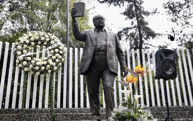 Panistas recuerdan a Manuel J. Clouthier 'Maquío' a 30 años de su muerte - Foto de Twitter @AccionNacional