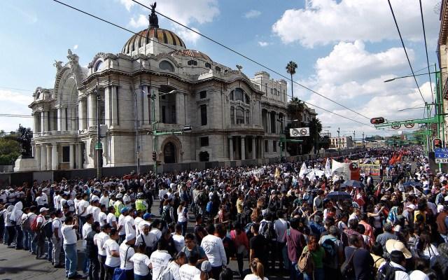 """Así organizó el Gobierno de la Ciudad de México los """"cinturones de paz"""" - Foto de Notimex"""