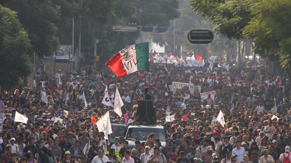Las marchas de este miércoles 2 de octubre en la Ciudad de México - marchas