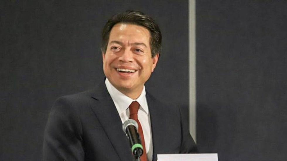 Mario Delgado no pedirá licencia para participar en renovación de dirigencia de Morena - Mario Delgado Carrillo Morena