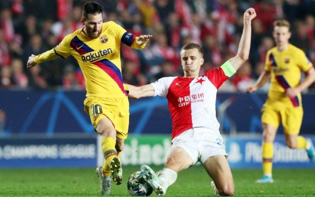 Barcelona saca una sufrida victoria ante Slavia Praga en Champions - Foto de EFE