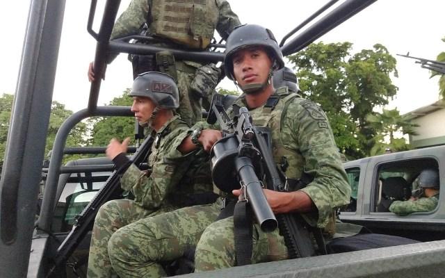 Se cumple plazo de seis meses propuesto por AMLO para reducir la violencia - Militares México fuerzas Sinaloa Sedena soldados