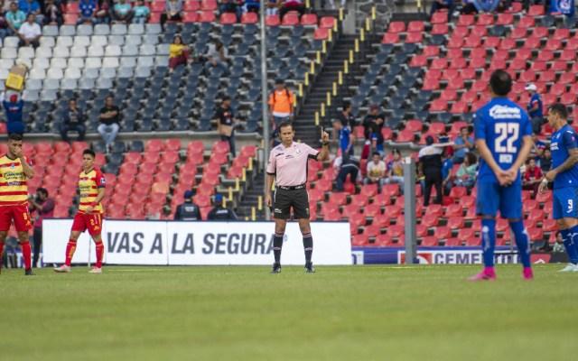 Cruz Azul y Morelia paran un minuto en apoyo a Veracruz - Foto de Mexsport