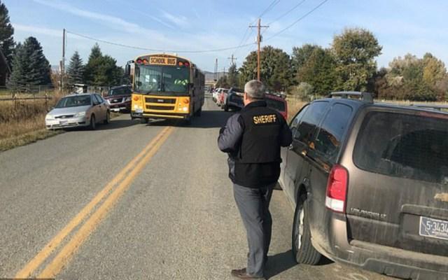 Explota bomba casera en patio de escuela primaria en EE.UU. - Foto de NBC Montana