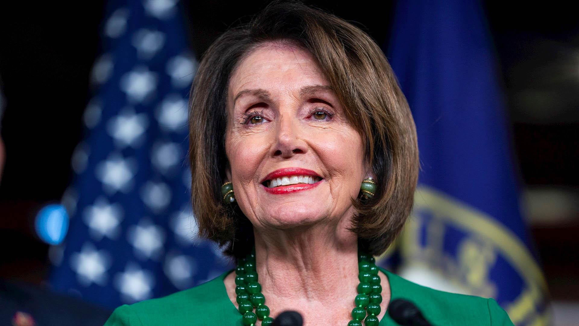 Para Donald Trump, Nancy Pelosi es