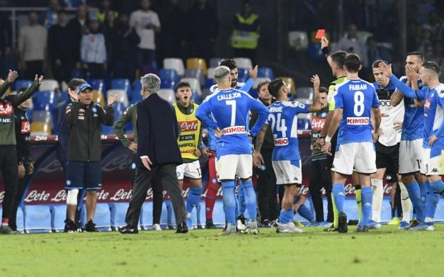 Napoli sanciona a sus jugadores por malos resultados - Napoli