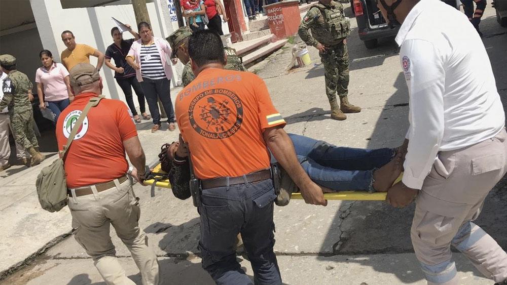 Suman dos migrantes muertos tras naufragio en Chiapas - Suman dos migrantes muertos tras naufragio en Chiapas