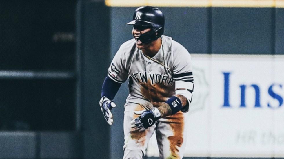 Yankees blanquean a Astros en primer duelo de la Serie de Campeonato de la Americana