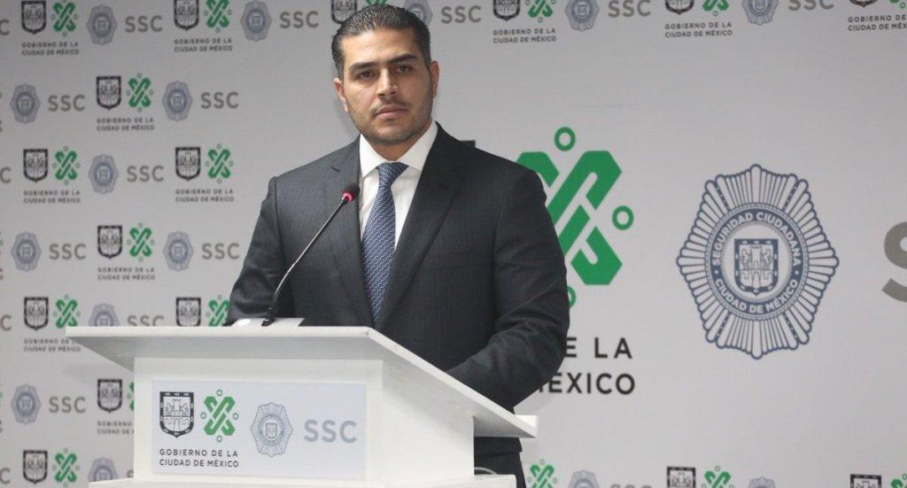 Omar García Harfuch ofrece disculpas por agresión de policías a reportero - Omar García Harfuch, titular de la SSC. Foto de @SSP_CDMX