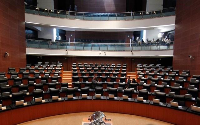 Senado inicia hoy análisis para prohibir condonación de impuestos - Pleno del Senado de la República. Foto de @senadomexico