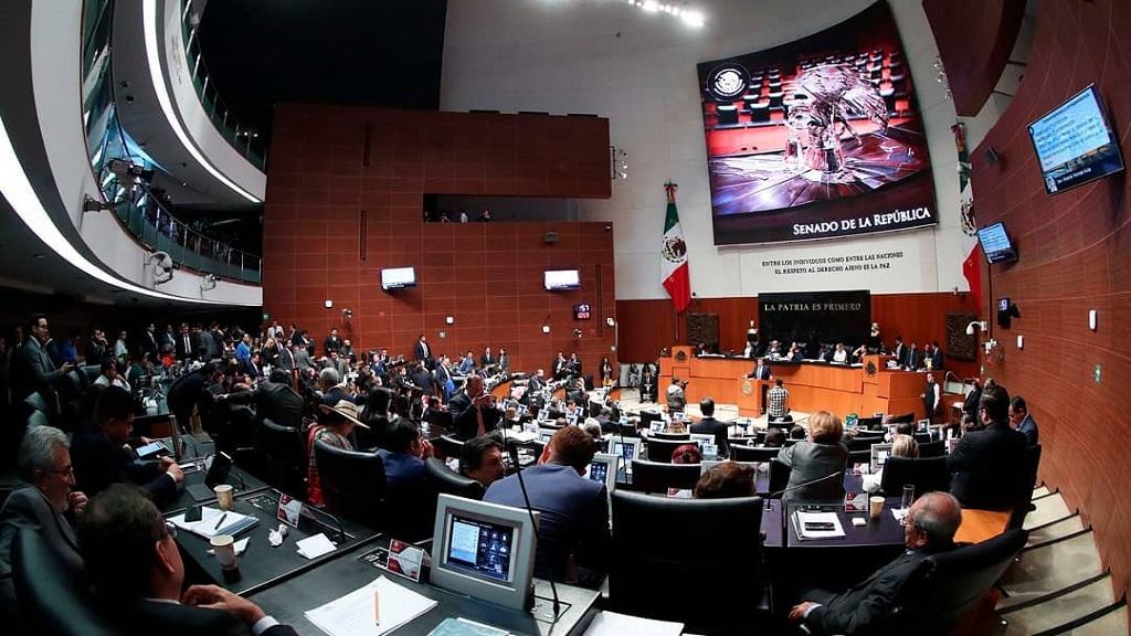 Senado aprueba nombramientos de magistrados en materia electoral - Pleno del Senado. Foto de @senadomexico